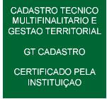 Cadastro Técnico e Multifinalitário